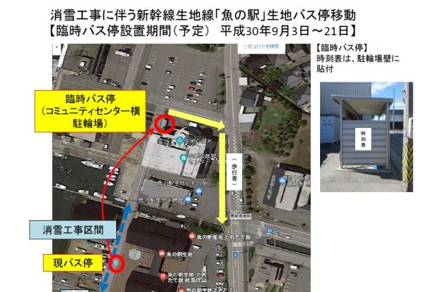 新幹線生地線_「魚の駅」生地臨時バス停